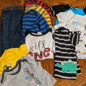 🐝 3 for 25! 11 piece 18 month boy lot